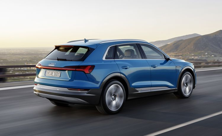 How the Electric 2019 Audi e-tron Balances High Tech with Mainstream Appeal