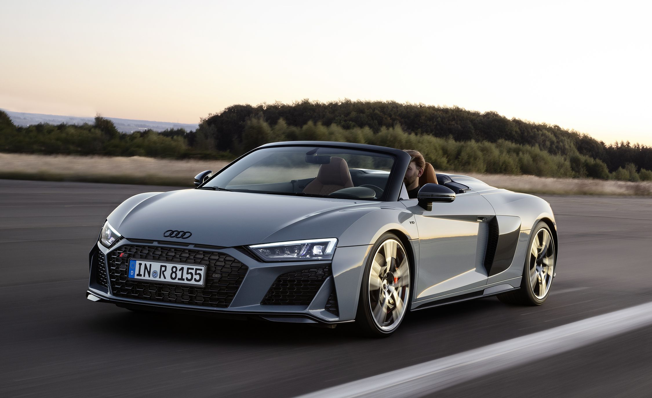 The 2019 Audi R8 Supercar Updated to Look Better, Drive Better