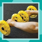 sklz core wheels dynamic strength and ab trainer roller