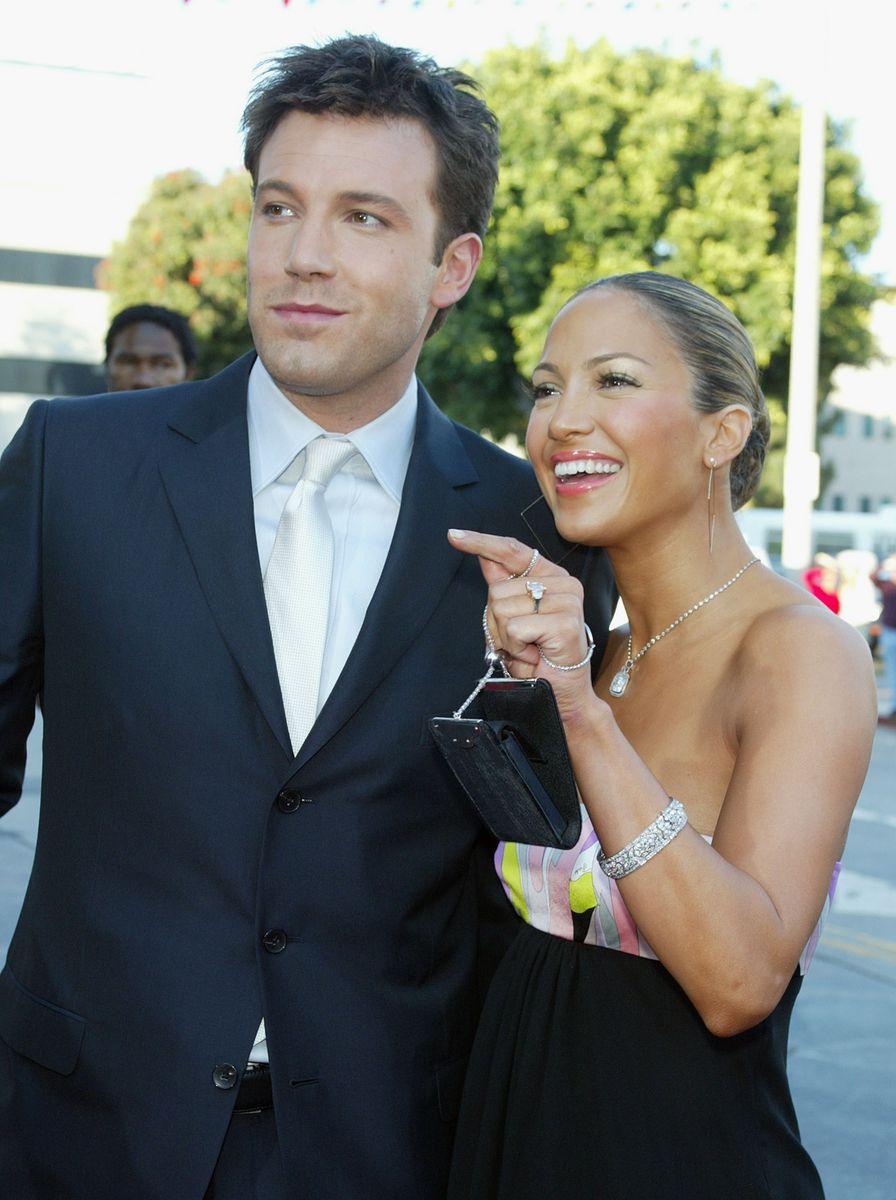 Ben and Jennifer, circa 2003.