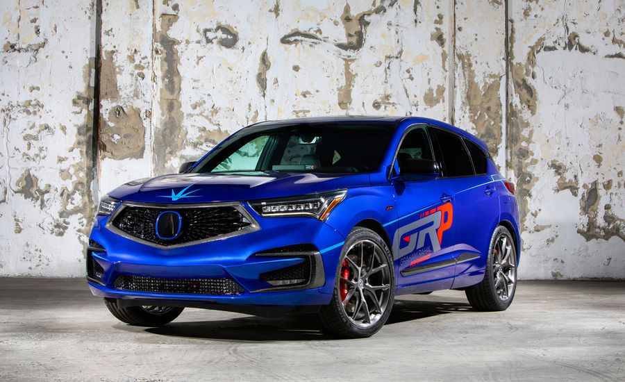 The 2019 Acura RDX A-Spec Gets a Racy Makeover for SEMA That's Good for 345 HP