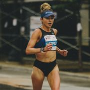 alexi pappas running the chicago marathon in 2018