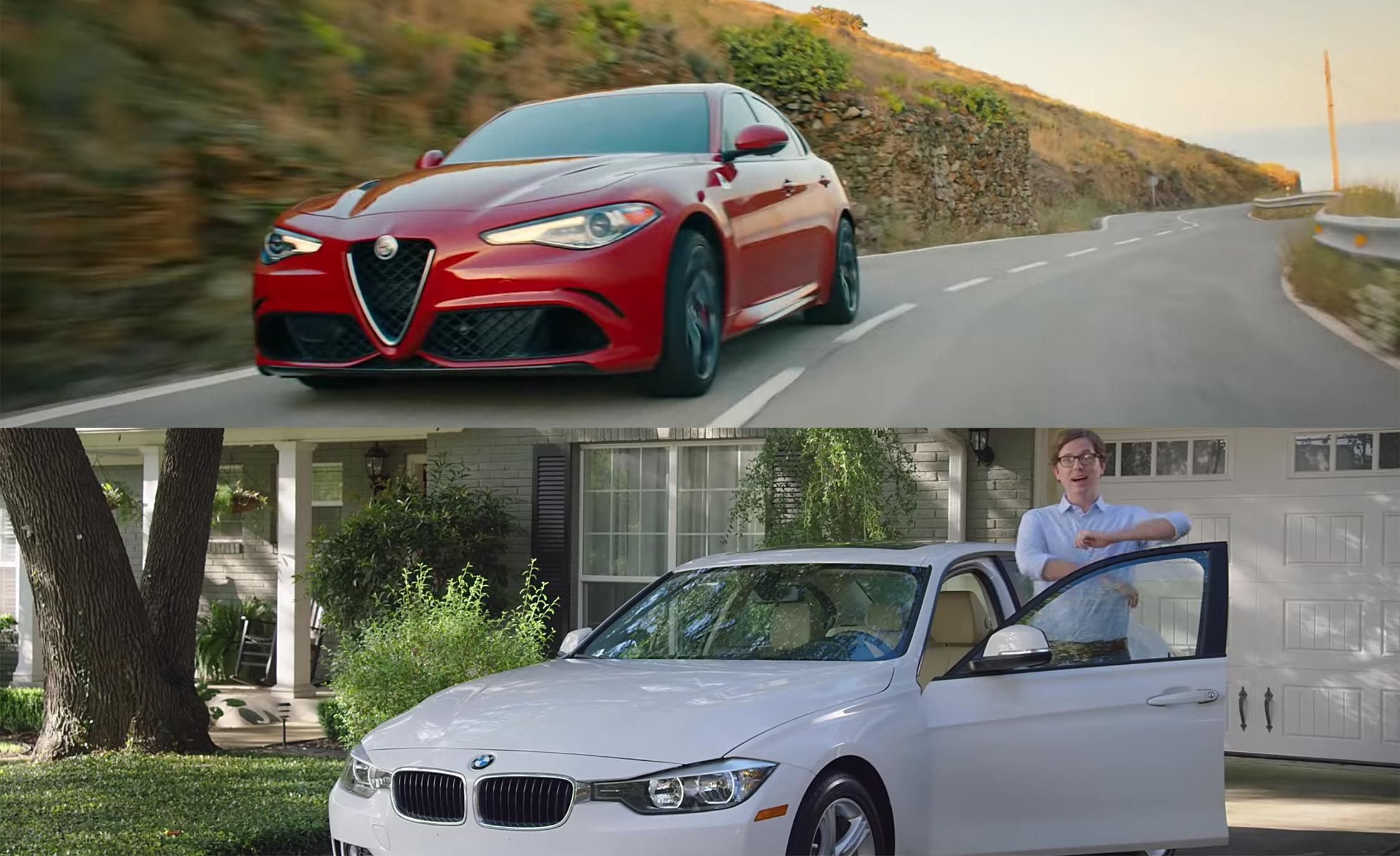 """Doug Sells His BMW"" Is Alfa Romeo's Pitch"