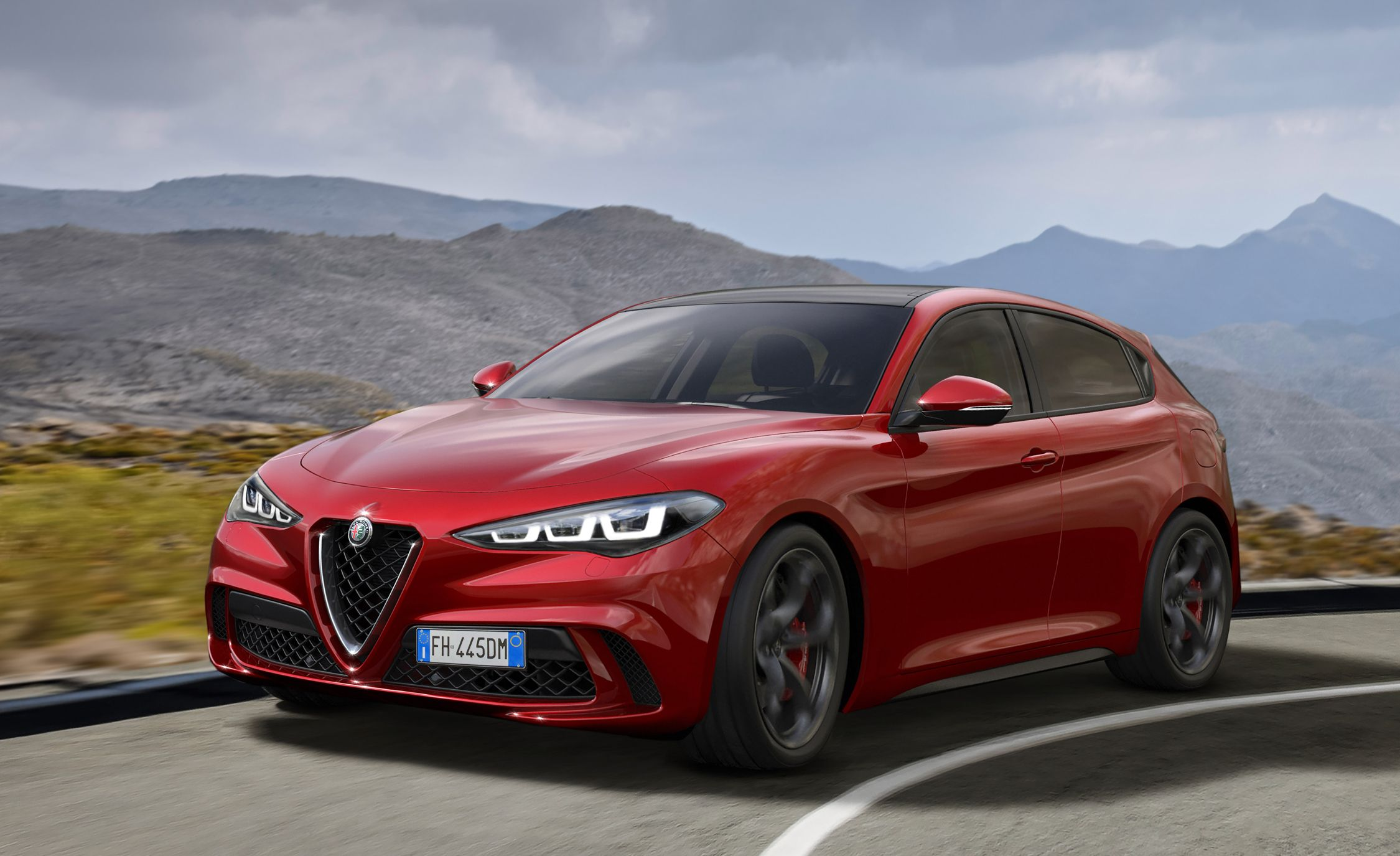 2020 Alfa Romeo Giulietta Is Going Rear-Wheel Drive