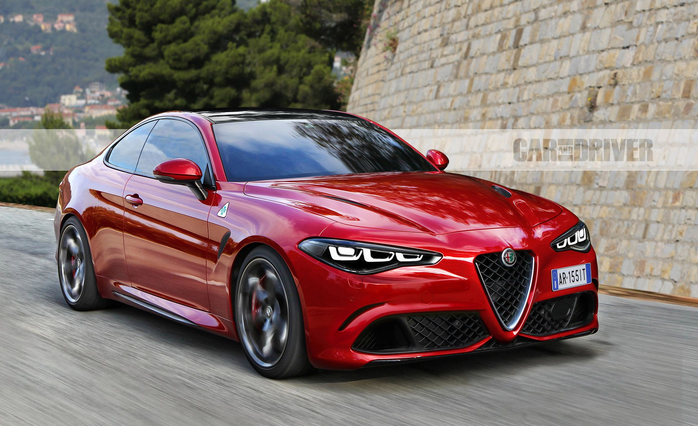 Everything We Know About Alfa Romeo's 600-Plus-HP GTV