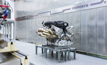Everything We Know about the Aston Martin Valkyrie's 1160-HP V-12 Hybrid Powertrain