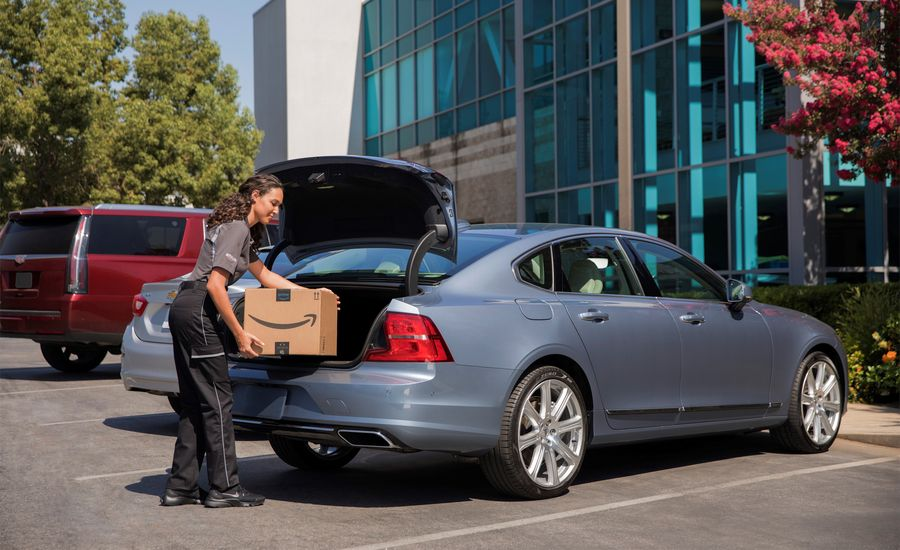 Put the Junk in the Trunk: Amazon In-Car Delivery Is Here