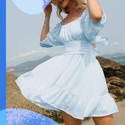 women in summer dresses