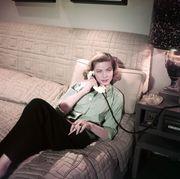 Lauren Bacall Calls