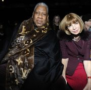 andre leon talley is the author of a new memoir, the chiffon trenches, that touches on his estrangement from his former confidante, anna wintour