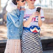 fashion week phone