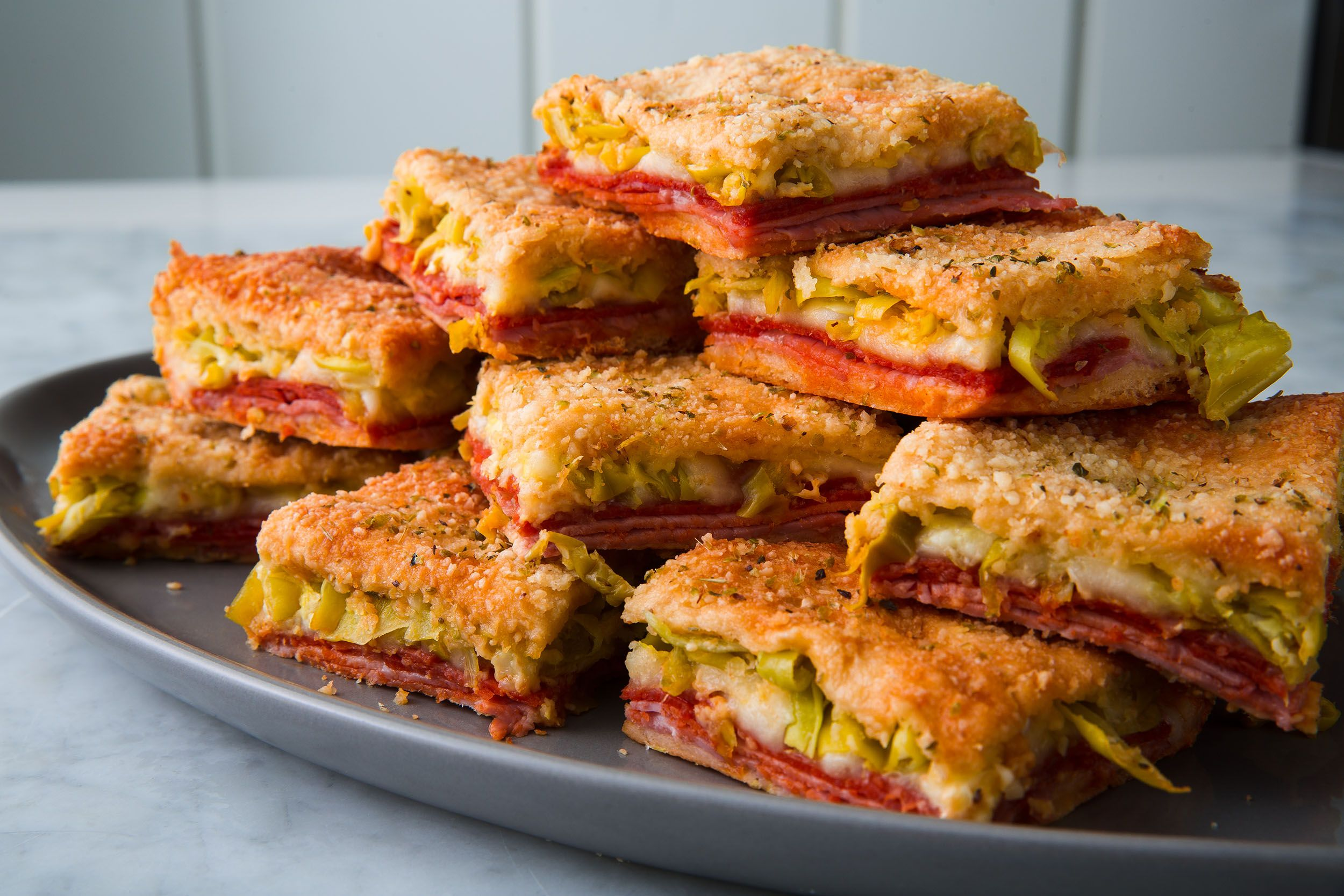 Best Antipasto Squares Recipe - How to Make Antipasto Squares