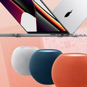 apple homepod mini, macbook pro, m1 pro chip