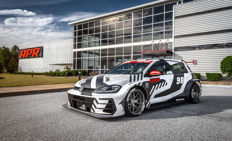 APR Unleashes a 536-HP Volkswagen Golf RLMS at SEMA