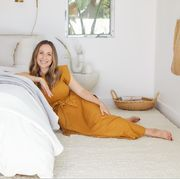 Bed, White, Bed sheet, Bedroom, Bedding, Room, Furniture, Yellow, Mattress, Comfort,