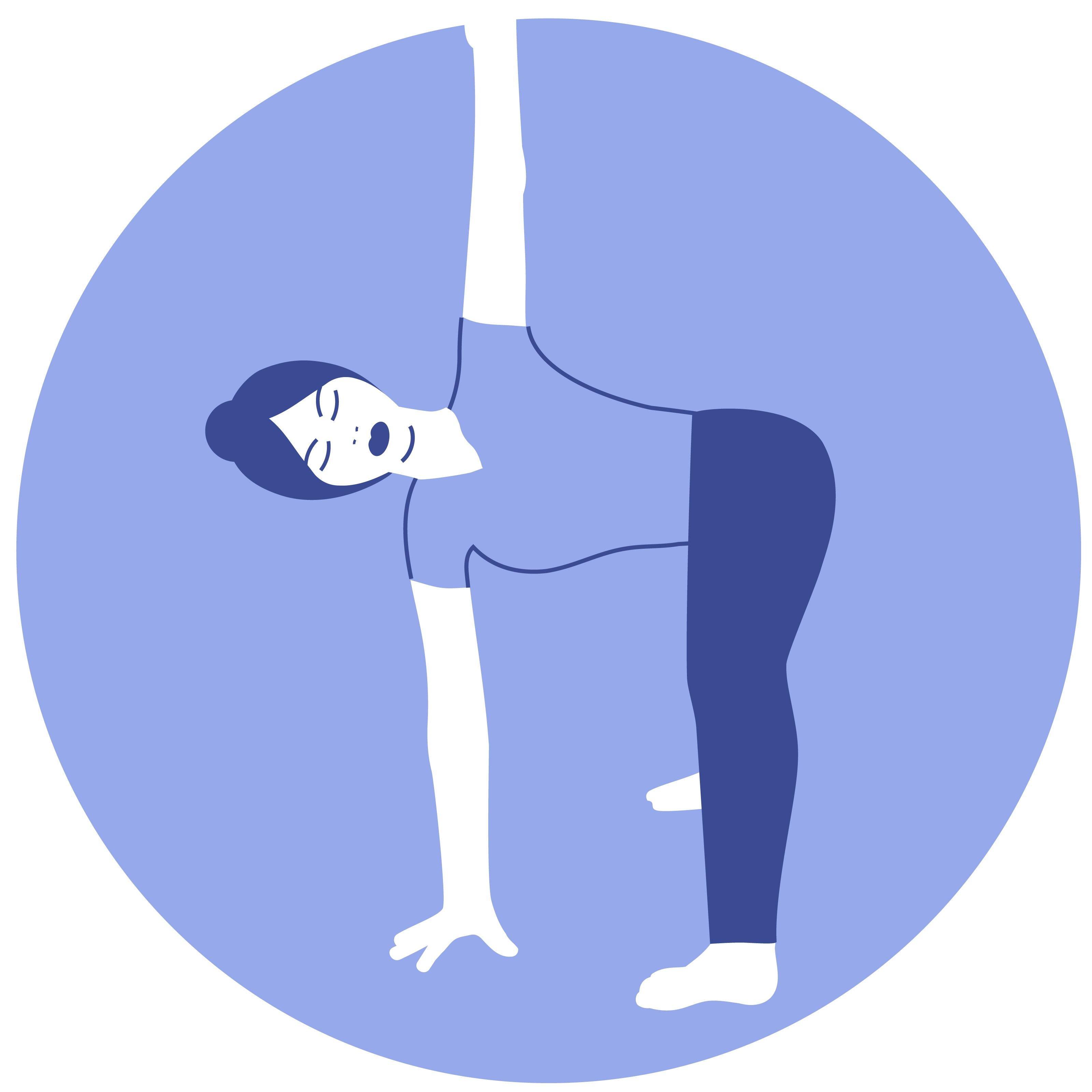 Forward Fold Pose
