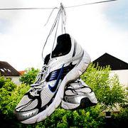Athletic shoe, Grey, Running shoe, Walking shoe, Roof, Nike free, Pole, Outdoor shoe, Cross training shoe, Tennis shoe,