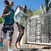 Human leg, Shorts, Active shorts, People in nature, Bermuda shorts, Trunks, Calf, board short, Walking shoe, Backpack,