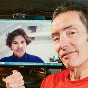 John Hanc and Jonas Mathys on Skype