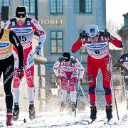 Winter sport, Recreation, Sports equipment, Sports uniform, Winter, Sportswear, Outdoor recreation, Ski cross, Headgear, Sports,