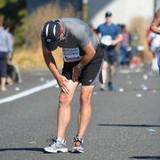 Running injury.