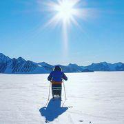 wheelchair bound man first to reach south pole