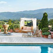 Swimming pool, Property, Furniture, Resort, Outdoor furniture, Vacation, Leisure, Room, Estate, Interior design,