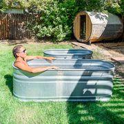 at home ice bath methods