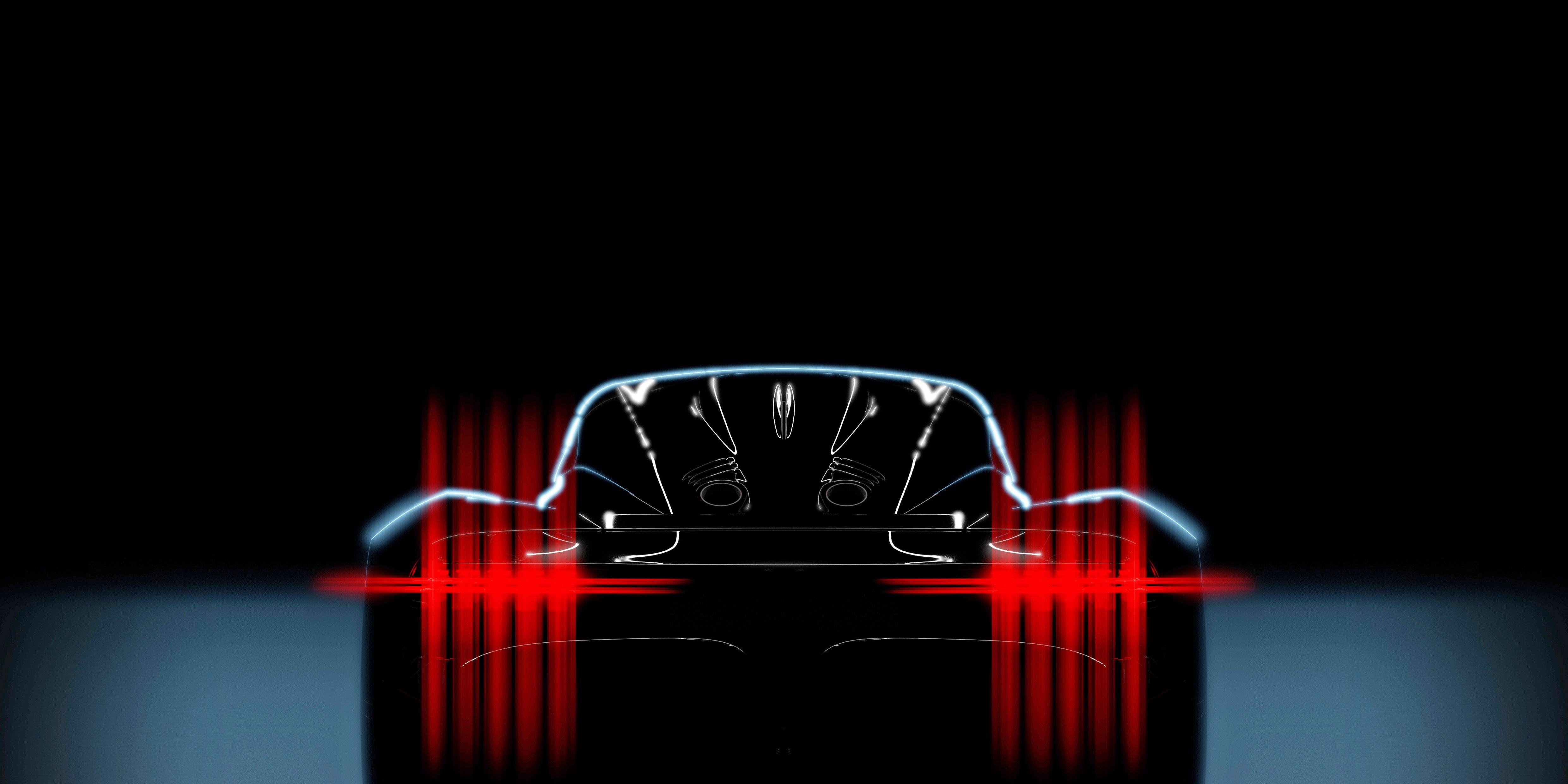 Aston Martin Teases Its Upcoming 003 Hybrid Hypercar