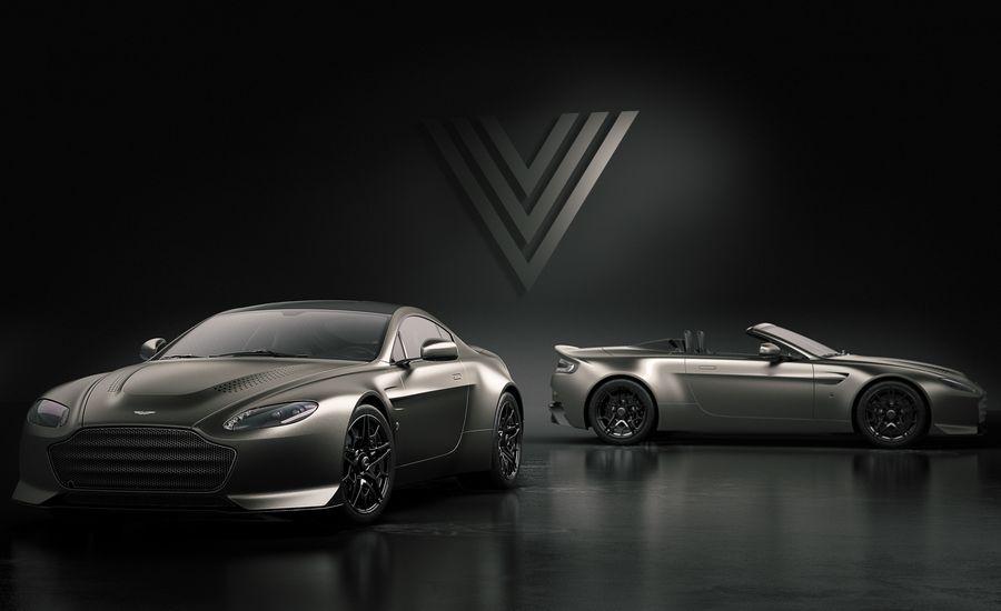 Aston Advantage: Aston Martin Creates Limited-Edition V12 Vantage V600