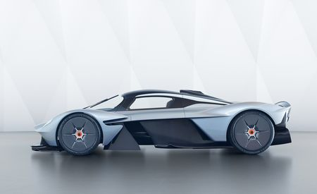 Aston Martin's Next Mid-Engined Hypercar Is Coming in Late 2021