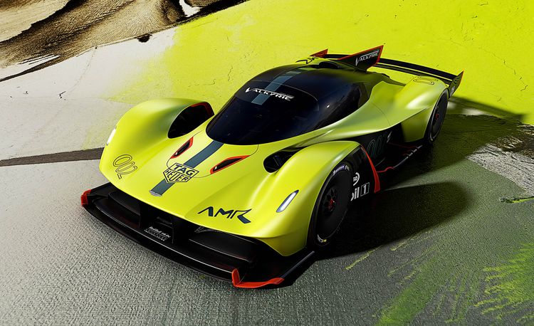 Red Bull to Collaborate with Aston Martin on Second Mid-Engined Supercar