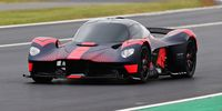 Watch the Aston Martin Valkyrie Make Its Dynamic Debut at the British Grand Prix