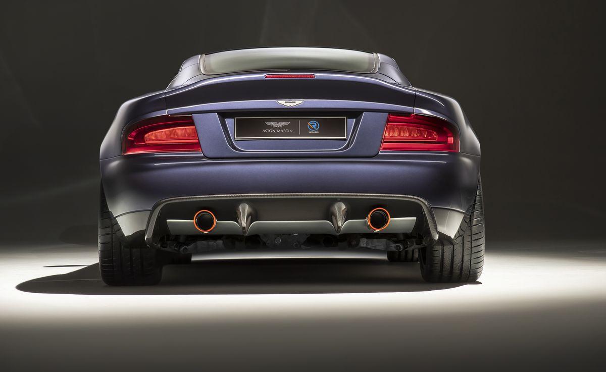 Callum's Aston Vanquish 25 Facelifts the Classic