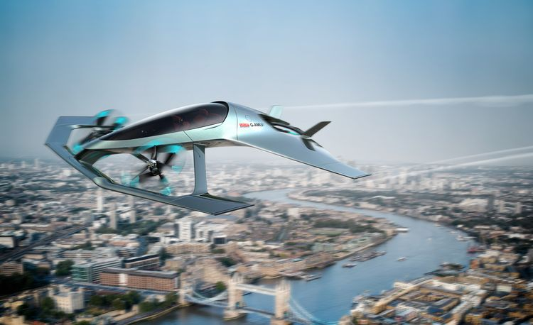 Aston Martin Takes to the Skies with Volante Vision Concept