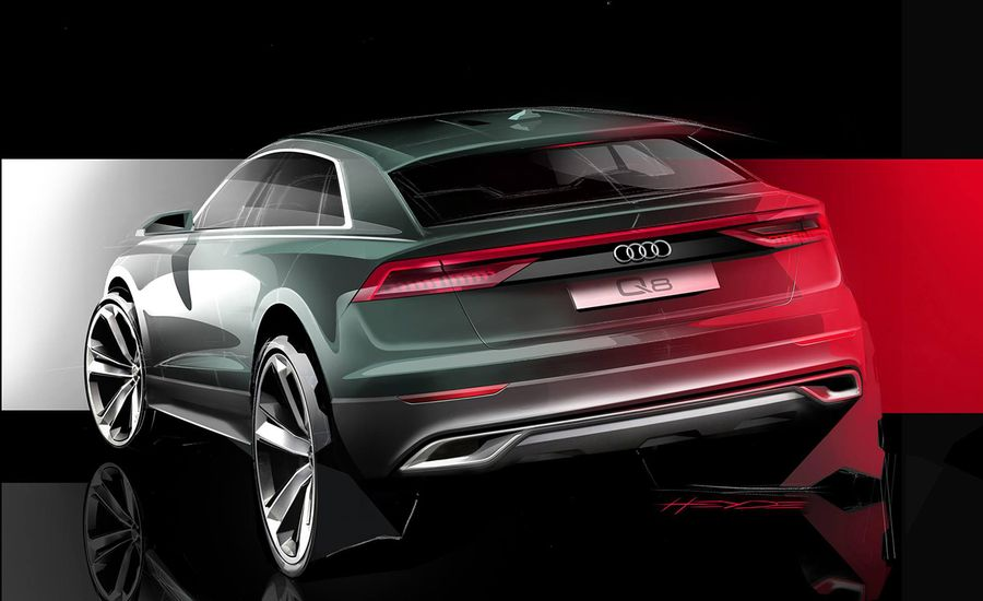 Little Q Coupe: Audi Teases Q8 Coupe
