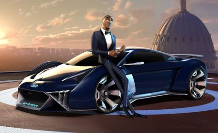 This Is the Virtual Audi Featured in Spies in Disguise, Will Smith's New Animated Movie