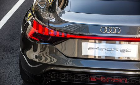 Every Photo from Our Drive of the Audi e-tron GT Concept