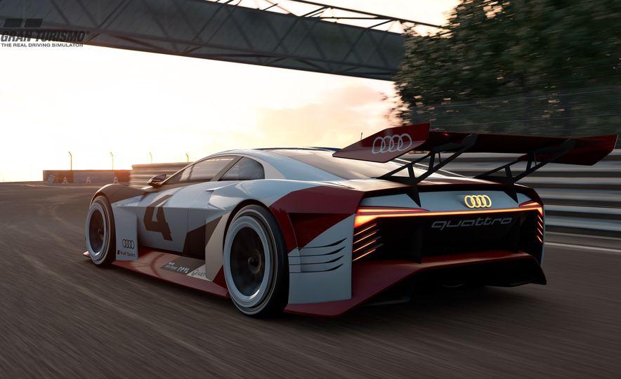 Audi e-tron Vision Gran Turismo - Slide 3