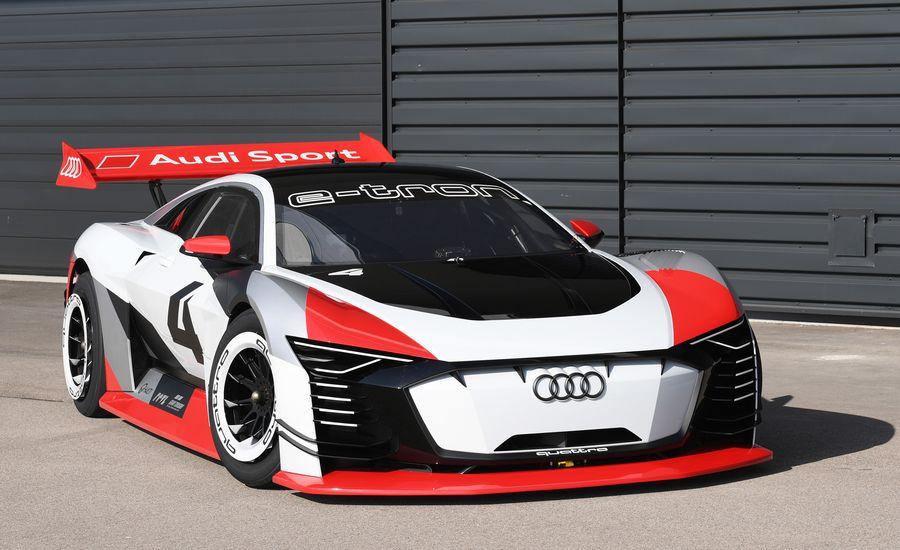 We Drive the Audi e-tron Vision Gran Turismo IRL