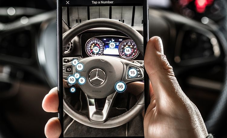 Genesis and Mercedes Are Trying to Bring the Owner's Manual into the Smartphone Era with Augmented Reality
