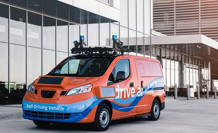 In Texas, Drive.ai's Self-Driving Vehicles Will Take Office Workers to Lunch