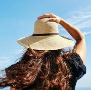 beach straw hats best 2018