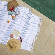 elle decor stylish beach towels