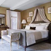 Bedroom, Furniture, Bed, Room, Interior design, Property, Bed frame, Ceiling, Bed sheet, Bedding,