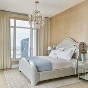 Bedroom, Furniture, Bed, Room, Interior design, Bed frame, Bed sheet, Property, Bedding, Floor,