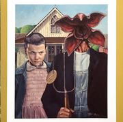 Painting, Art, Adaptation, Illustration, Visual arts, Watercolor paint, Photography, Child,