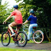 beginner bike testing   outdoor cycling