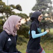 namrah shahid, and muslim women run club