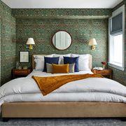zoe feldman floral fall bedroom decor elle decor